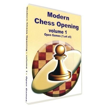 Modern Chess Opening vol. 1. Open games 1.e4 e5 (P-510/1)
