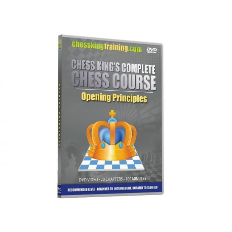 Chess King's Complete Chess Course. Opening Principles (P-501)