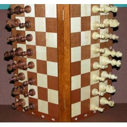 Chess Magnetic Intarsie