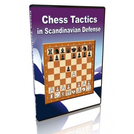 Chess Tactics in Scandinavian Defense (P-506/sc)