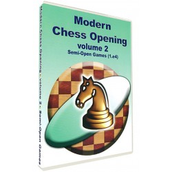 Modern Chess Opening vol. 2. Semi-Open Games (1.e4)  (P-510/2)