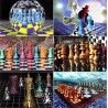 Chess postcards