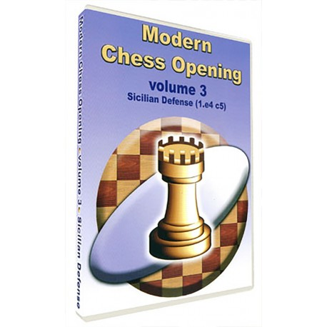 Modern Chess Opening vol. 3 Sicilian Defense (1.e4 c5) (P-510/3)