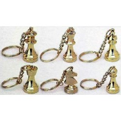 Chess pendants (gold) (A-2a)
