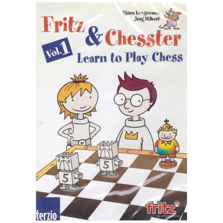 Learn to Play Chess with Fritz & Chesster. (vol. 1) (P-0001)
