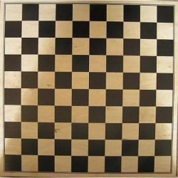 Wooden Board to the 100 field checkers (W-7)