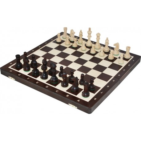 Chess Tournament no. 4 Inlaid Wenge (S-11 / wenge)