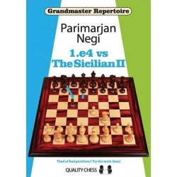 Grandmaster Repertoire - 1.e4 vs The Sicilian II by Parimarjan Negi (K-5029)