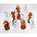 Amber keyrings - figures (A-12/br/f)