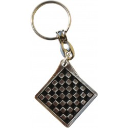Two-sided Metal Keyring (A-2/kw)
