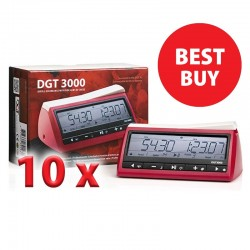 10 x Digital clock DGT 3000 (ZS-25) 5 Year warranty !