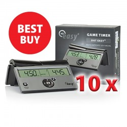 10 x Digital Clock DGT Easy Plus (ZS-13/b)