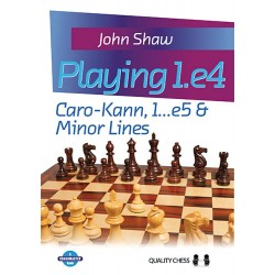 John Shaw - Playing 1.e4  Caro-Kann, 1. ..e5 & Minor Lines  (K-5094)