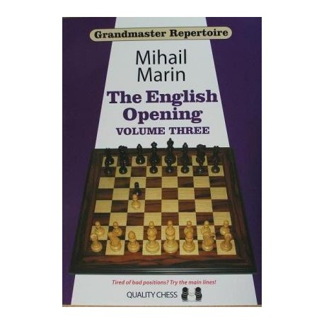 Grandmaster Repertoire 5 - The English Opening vol. 3 by Mihail Marin  ( K-3258/3 )