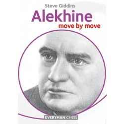 Steve Giddins - Alekhine. Move by move  (K-5109/4)