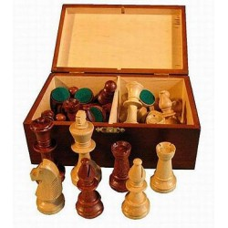 Chess Staunton No 5 in wooden case (S-5)