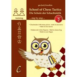 GM J. Zezulkin - School of Chess Tactics volume 2 (K-5126/2)
