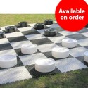 Garden Checkers - Large, plastic (S-43/W)