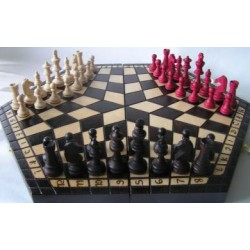 Chess for three players / Big (S-62)