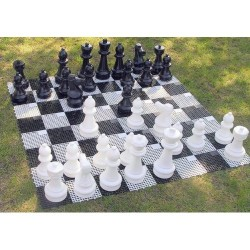 Patio Chess - Middle, Plastic (S-43/T)