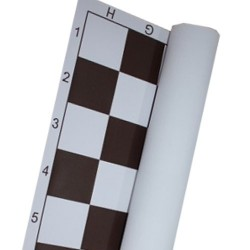 Roll Up Chess Board - Tourament no. 4 - field 48x48 mm (S-36/4)