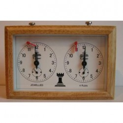 Arador Wooden Chess Clock