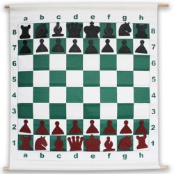 Magnetic Rollable DEMO Chessboard 64 x 64 cm (S-71)