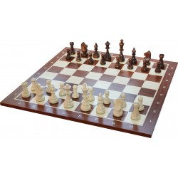 Wooden Chess pieces No. 5 Extra (S-M01)