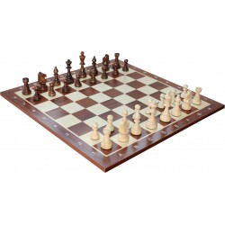 Wooden Chess pieces No. 6 Extra (S-M02)
