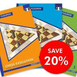 Artur Yusupov - Chess Evolution 1 - 3  SET (K-3467/set)