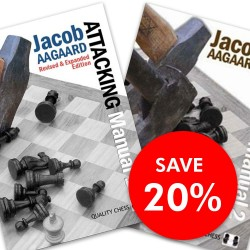 Jacob Aagaard - Attacking Manual 1 & 2 Set (K-2478/set)