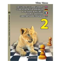 Viktor Vamos - Chess Tactics for Beginners vol.2 ( K-3381/2 )
