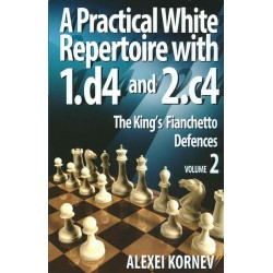 Alexei Kornev - A Practical White Repertoire with 1.d4 and 2.c4 Vol. 2 (K-3598/2/a)