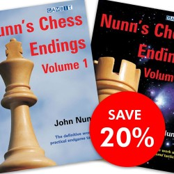 John Nunn - Nunn's Chess Endings Combined vol. 1, 2 - set (K-3362/set)