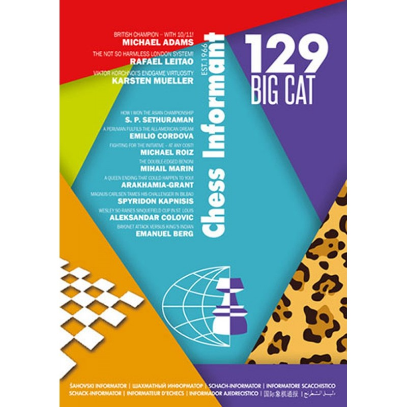 Chess Informant 129 Paperback Big Cat