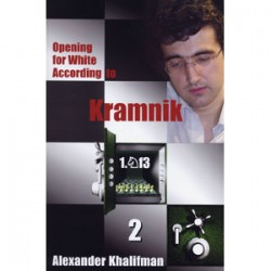 """Kramnik - opening for white , Vol. 2 \""  Aleksander Khalifman"