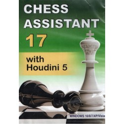 Chess Assistant 17 with Houdini 5 (P-0016)