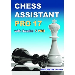 Chess Assistant 17 PRO with Houdini 5 PRO (P-0017)