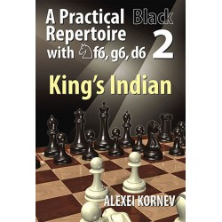 A. Kornev - King´s Indian - Practical Black Repertoire with Nf6, g6, d6 Vol. 2 (K-5222)