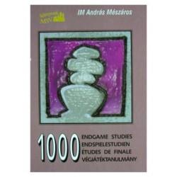 """Andras Meszaros \\\\\\\""""1000 Endgame Studies\\\\\\\"""""""