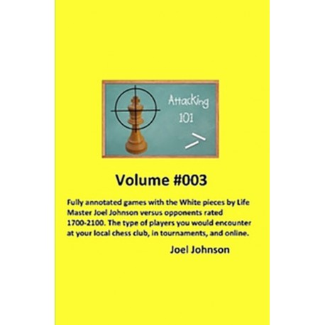Joel Johnson - Attacking 101. Volume 003 (K-5252)