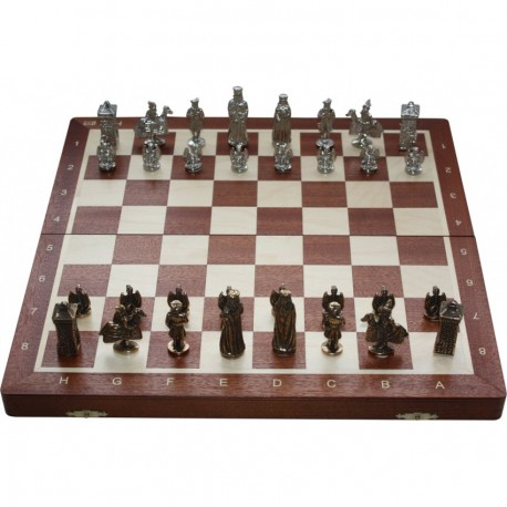 """Chess """"Cracow"""" - metal figures (S-010)"""