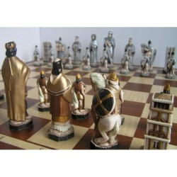 England Chess - Hand-painted figures - Large (S-158)