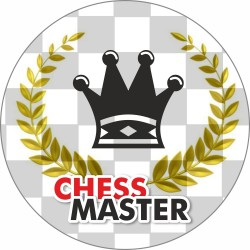 "Button ""Chess Master"" (A-89)"