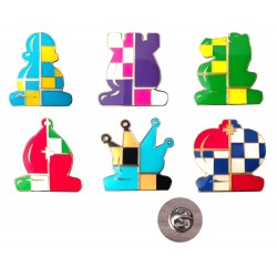Metal Button in Chess Pieces Shape (A-95)