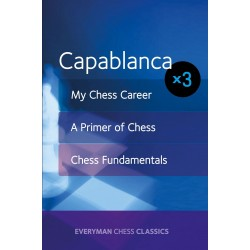 Capablanca: My Chess Career, Chess Fundamentals & A Primer of Chess (K-5266)
