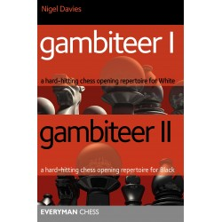 Gambiteer 1 & 2: A Hard-hitting Chess Opening Repertoire for White & Black (K-5261)