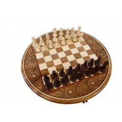 RUBY Chess - Awsome Round Chessboard (S-125)