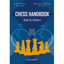 Chess Handbook. Book for Arbiters by IA Zoran Bojovic and IA Bronislav Suhartovic (K-5298)