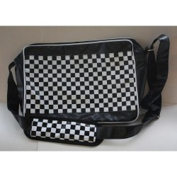 Bag with theme chess
